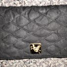 Fundamentals LLC Butterfly Quilted Cloth Checkbook Cover / Credit Card Clutch