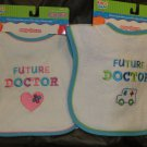 "Kids 2 Grow By Danara "" Future Doctor "" Baby Bib For Boy Or Girl"