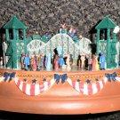 Liberty Falls Collector's Club Roller Coaster Music Box #AH999