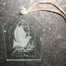 Glass Dove Christmas Ornament #70-700