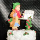 Enesco Girl Opening Mailbox Figurine 1993 #657646