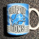 Detroit Lions End Zone C Handle 10 Ounce Coffee Mug