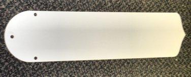 "White / Light Woodgrain Ceiling Fan Blades 20 1/2"" Set Of 5"