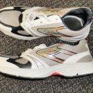 Hongcen Men's White / Tan Athletic Shoes Size 8 / 41