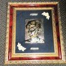 Creazioni Artistiche Princess Diana Framed Cameo Sculpture L. Edition 925 Silver