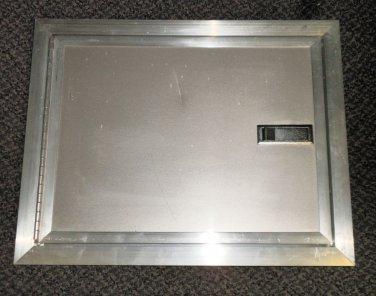"""Challenger Door/ Elixir 12.75"""" X 16.625"""" Non Locking Cargo Door Color:Champaign"""