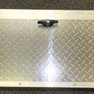 """Challenger Door/ Elixir 14.25"""" X 33"""" Diamond Plate Cargo Door W/ Lock"""