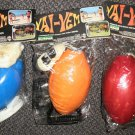 Vai-Vem Mi Mo / Shuttle Ball Outdoor Game 1 Piece Blue, Red Or Orange