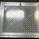 """Challenger Door/ Elixir 28.25"""" X 24.25"""" Diamond Plate Cargo Door W/Lock #ATP0250"""