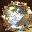"""The Hamilton Collection Four Seasons Of The Eagle """" Winter's Flight """"  1997"""
