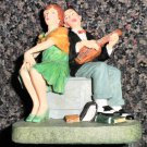 """The Saturday Evening Post Norman Rockwell Collection """"Serenade"""" Figurine #NRR601"""
