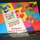 Ty / Mc Donald's Teenie Beanie Babies Complete Set Of 12 In Box 1999