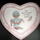 Enesco Precious Moments Sweet Inspirations Mini Plaque With Stand #129836