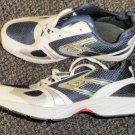 Hongcen Men's White / Blue Athletic Shoes Size 9 / 42