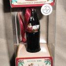 Coca Cola Minature Limited Edition Contour Bottle Ornament 2000