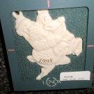 Lenox China Santa Claus On A Reindeer Ornament 1998 #83334