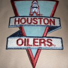 """Houston Oilers Fabric Iron On Decal  Size: 3 1/2"""" W X 4 7/8"""" L"""