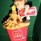 Enesco Smallwonders Mc Donald's French Fry Tree Miniature Ornament  #653950