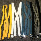 Unisex  X Back Suspenders  Choice Of Color - Black, Teal, White Or Yellow
