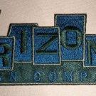 "Arizona Jean Company Fabric Iron On Decal  Size: 1 3/4"" W X 4 1/2"" L"