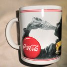 Coca Cola Drive Refreshed Coffee Mug 1997 #C1896A