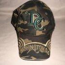 Washington DC Camouflage  Baseball Cap