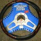 Dale Earnhardt #3 Steering Wheel Cover Brown/Black N18H