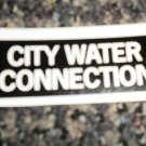 RV Information Decal City Water Connection  #TL50002CWC
