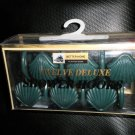 Better Homes Plastics Corp D.Green Sea Shell Deluxe Shower Hooks Set 12 #0447120