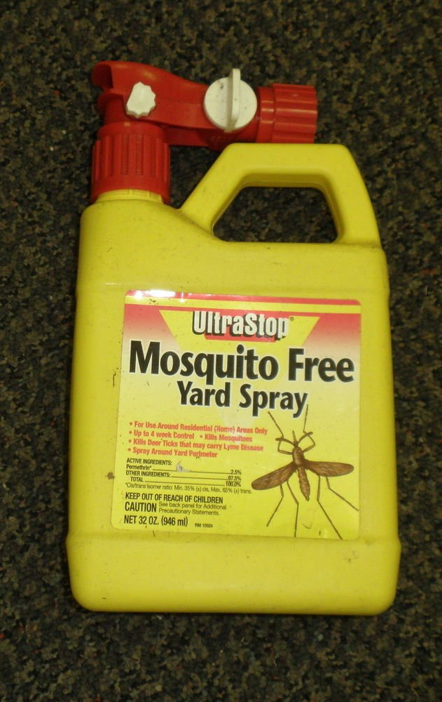 Ultra Stop Mosquito Free Yard Spray 32 Ounces