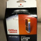 Office Depot Remanufactured Ink Cartridge Replaces Canon BCI-6R Red Ink #294-299