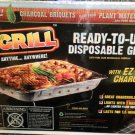 EZ Grill Ready To Use Disposable Grill With EZ Light Charcoal #8899521002019