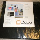 i Cube 2 Black Half Fabric Drawers Storage System #816427010320