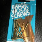 "Bear Kat Products Brass Wood Screws #6 X 1 1/2"" Qty. 8 #94246-2"
