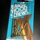 """Bear Kat Products Brass Wood Screws #6 X 1 1/2"""" Qty. 8 #94246-2"""