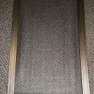 """Phillips Products Dark Brown Window Garnish & Screen 16"""" X 24"""" #67-6060"""