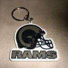 Rico NFL RAMS Rubber Key Tag #KR3002