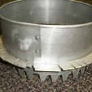 """Stainless Steel 7 1/2"""" Stove Pipe Adapter"""