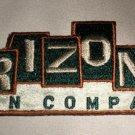 Arizona Jean Company Fabric Iron On Decal Green / Tan Burnt Orange Border