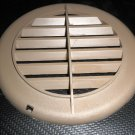 """RV 5 3/8"""" Brown Plastic Vent Grille / Cover"""