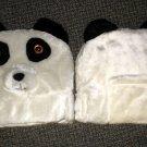Valentino Imports Panda Bear Plush Auto Headrest Covers