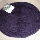 Jaclyn Smith OSFM Knit Beret - Plum #808518019411