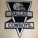 "Dallas Cowboys Fabric Iron On Decal  Size: 3 3/8"" W X 4 3/4"" L"