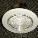 Sea Gull Lighting Recessed Light White / Clear Len Accent Trim Kit #1153AT-15