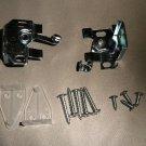 """Metal 1"""" Mini Blind Mounting Brackets  Set Of 2"""