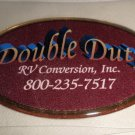 RV Information Decal Small Double Duty Emblem