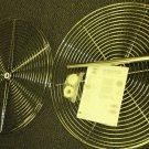 "Knape & Vogt Mfg. 28"" Full Round Wire Lazy Susan Kit #FR28S-C"