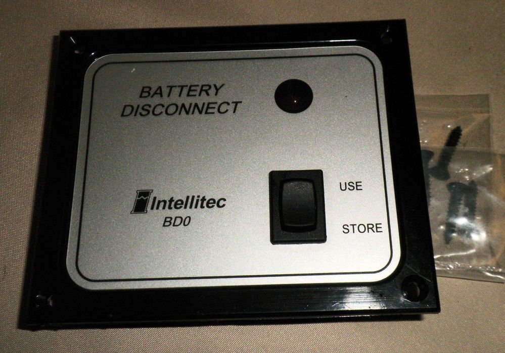 Intellitec Bdo Battery Disconnect Switch 01 00066 004