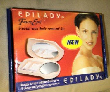 Epilady Face Epil Facial Wax Hair Removal Kit #ME820-20