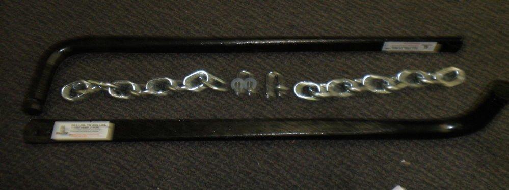 Husky 800 Lb. Spring Bar Set #4343-06 For Husky 070221 Weight Distribution Hitch